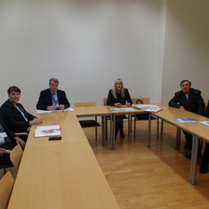 Visit of the Serbian partners to the Danube University Krems