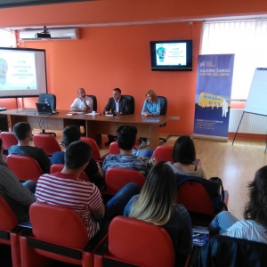 First training for participants in competition for best student idea - University of Kragujevac